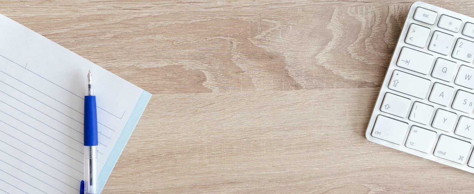 Kalem Kağıt Klavye